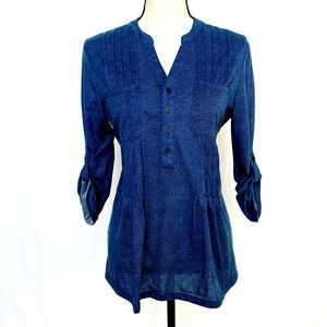 French Laundry Blue Blouse